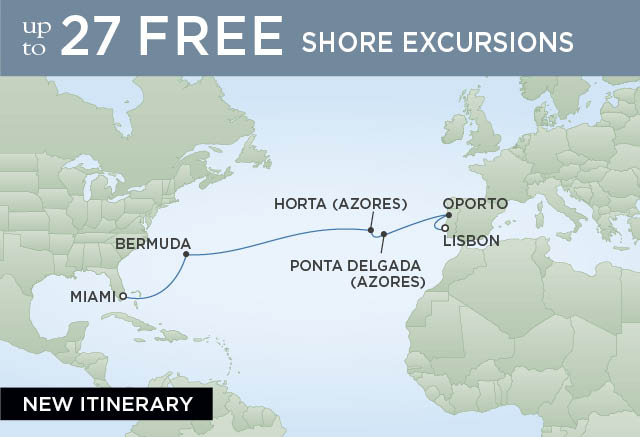 Regent Cruises | 16-Nights from Papeete to Auckland Cruise Iinerary Map