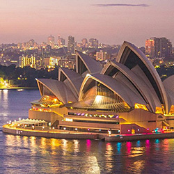 Regent Seven Seas Cruises Free Land Program - Sydney Icons